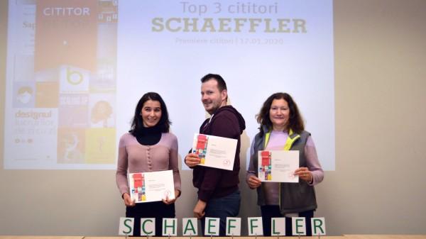 Cititul, o activitate în topul preferințelor angajaților Schaeffler