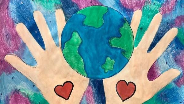Concursul de Desene pe teme de mediu a continuat anul acesta online