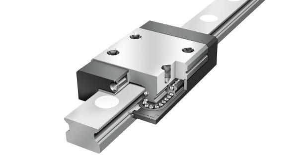 Ghidaje liniare Schaeffler: Ansamble miniaturizate cu bile de recirculare pe patru rânduri