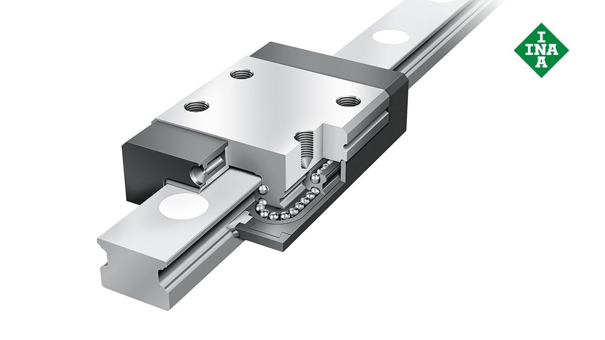 Ghidaje liniare Schaeffler: Ansamble miniaturizate cu bile de recirculare