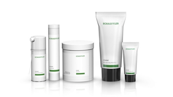 Schaeffler maintenance products: Lubricants, mounting paste