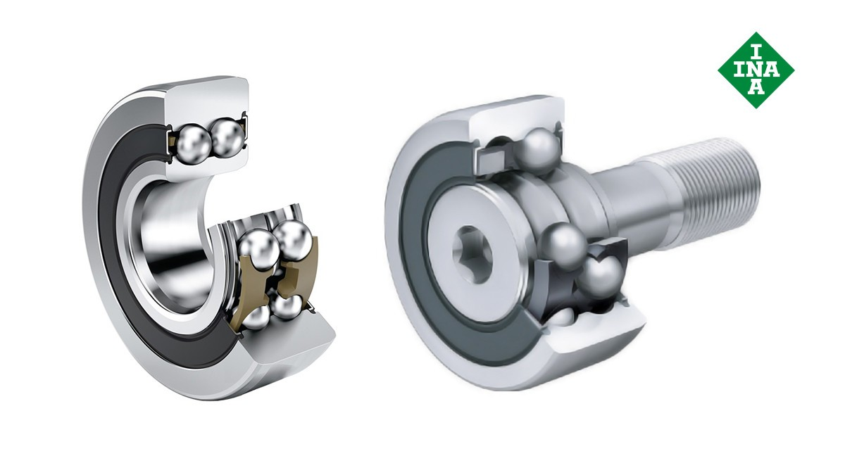Schaeffler rolling bearings and plain bearings: Track rollers, backup rollers and cam rollers
