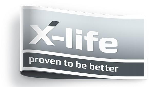 Logo-ul X-life de la Schaeffler