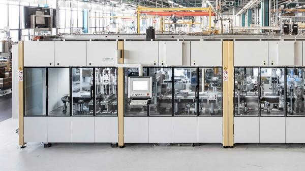 Hală de producție la Schaeffler's Special Machinery