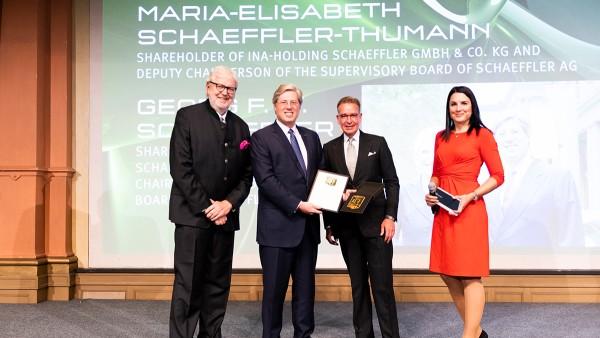 """""""Brand Manager of the Year"""" - Acționarii familiei Grupului Schaeffler primesc un premiu onorific"""