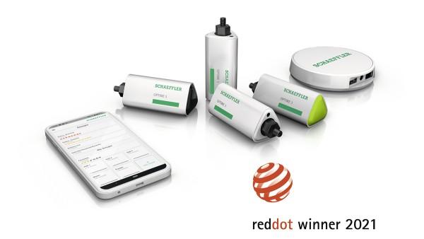 Schaeffler primește premiul Red Dot Design Award la două categorii pentru OPTIME