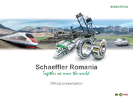 Schaeffler Romania - Official Presentation