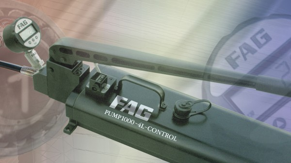 The FAG computer program Mounting Manager is a user-friendly aid for ensuring the correct mounting of bearings with tapered bore.