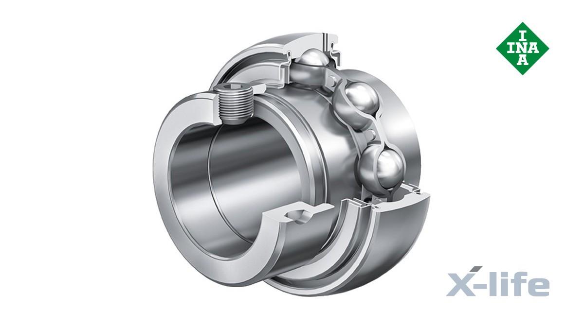 Schaeffler rolling bearings and plain bearings: Radial insert ball bearings